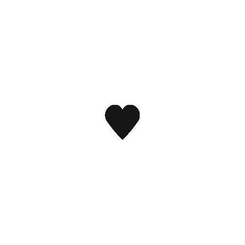 Logoschablone Herz