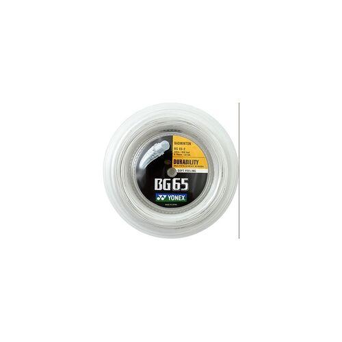 Yonex gelb - Badmintonsaite - Yonex BG 65 - 200 m