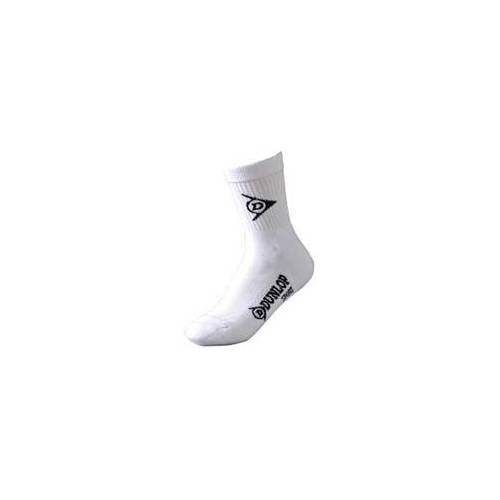 Nike Dunlop - Ladies Crew Socks 3er Pack 4-8 white