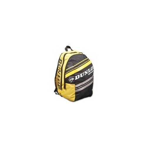 Dunlop Rucksack- Dunlop Rucksack (Club Taschen Serie)schwarz-gelb