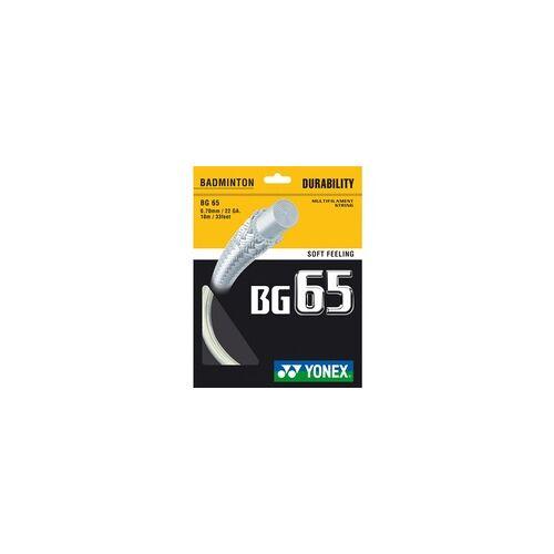 Yonex gelb - Badmintonsaite - Yonex BG 65, 10m