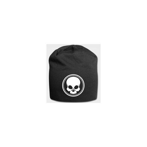BLACK SKULL - Jersey-Beanie - schwarz