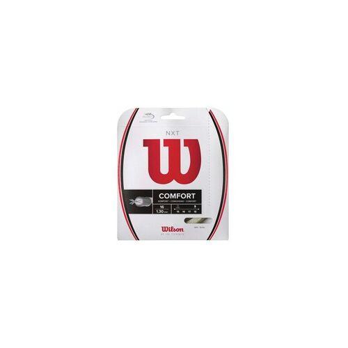 Wilson 17G / 1,24 mm - Tennissaite - Wilson - NXT - natur - 12,2 m
