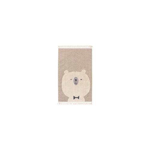 benuta KIDS Kinderteppich Momo Beige 90x130 cm - Teppich für Kinderzimmer