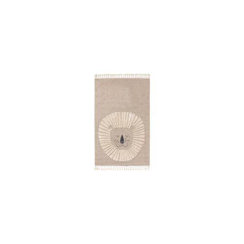 benuta KIDS Kinderteppich Momo Beige 120x180 cm - Teppich für Kinderzimmer