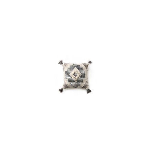 Lytte Kissenbezug Wanda Grau 45x45 cm - Moderner Teppich für Wohnzimmer
