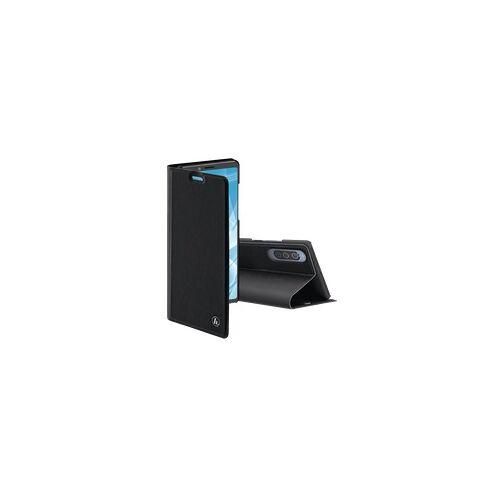 Hama Slim Pro Booklet Handyhülle für Sony Xperia 10 II (Schwarz)