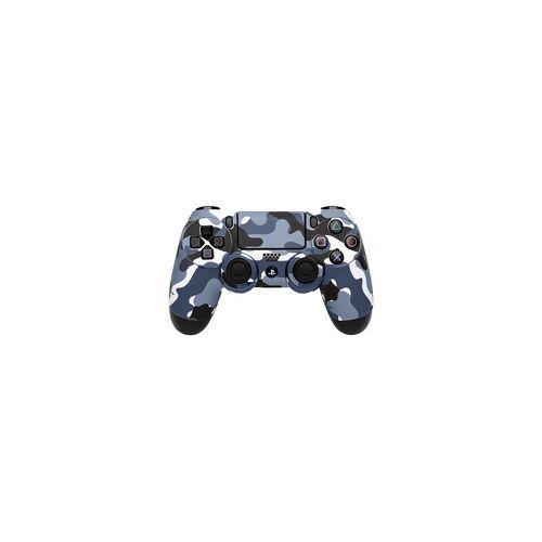 software pyramide 97320 Controller-Skin camouflage-grau Gaming controller skin PlayStation 4 (Camouflage, Grau)