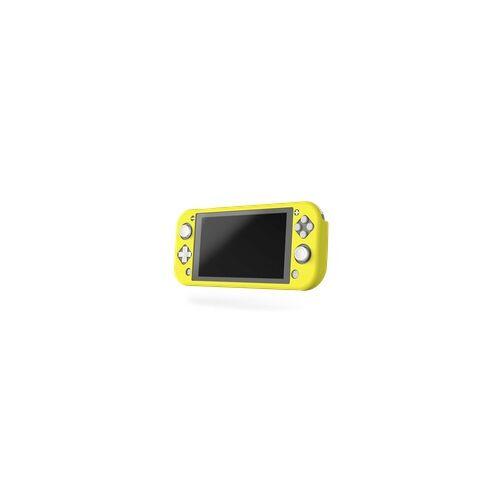 Hama 00054618 Grip-Schutzhülle für Nintendo Switch Lite (Gelb)