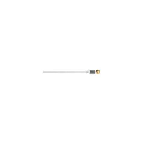 Avinity 127203 SAT-Anschlusskabel AV-Zubehör 5m Kabel Weiß (Weiß) (Versandkostenfrei)