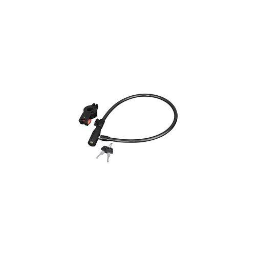 Hama 00178109 Fahrrad-Kabelschloss 65cm  (Schwarz)