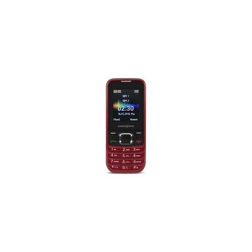 swisstone SC 230 Handy 4,5cm/1,77 VGA-Kamera FM-Radio Dual-SIM (Rot)