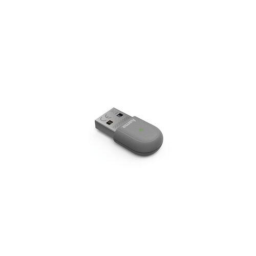 Hama 053305 AC600 Nano-WLAN-USB-Stick 433 Mbit/s Wi-Fi 5 (802.11ac) (Grau)
