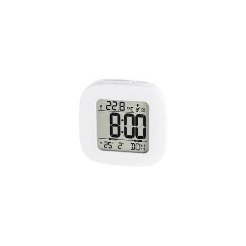 Hama 186372 RC 45 Funkwecker Speed-Alarm (Weiß)