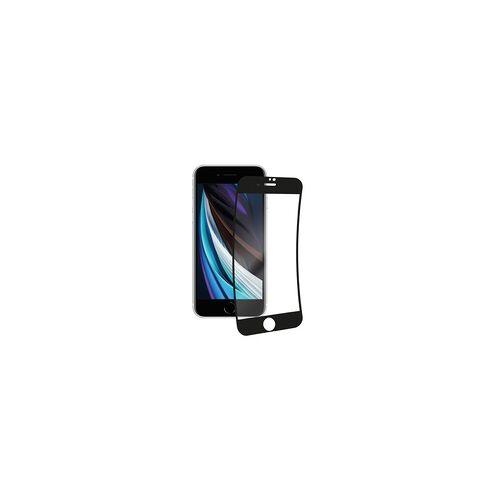 Vivanco Full Premium Klare Bildschirmschutzfolie 9H für iPhone SE (2.Gen), iPhone 8, iPhone 7, iPhone 6s