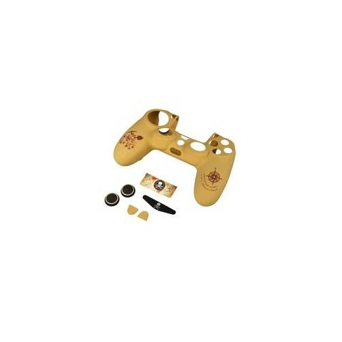 Hama 054491 Adventure 7in1-Zubehör-Paket  PS4/SLIM/PRO Dualshock 4 Controller (Beige)