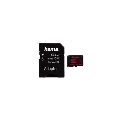 Hama 123981 MicroSDHC Speicherkarte 32 GB
