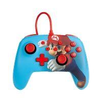 PowerA Enhanced Wired Controller For Nintendo Switch Mario Punch Analog / Digital Gamepad Nintendo Switch kabelgebunden (Mehrfarben)