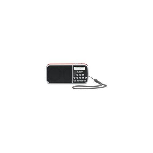 TechniSat TechniRadio RDR DAB+,FM Radio (Rot)