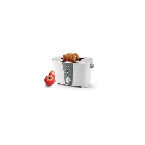ECG ST818 Toaster 800 W 2 Scheibe(n) (Grau, Edelstahl)