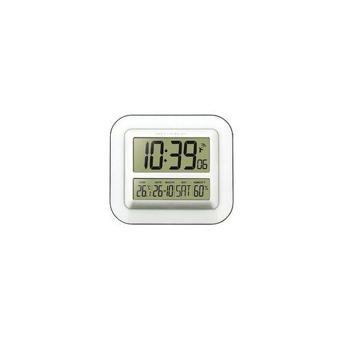 Technoline WS-8006 Funkwanduhr Zeitzoneneinstellung Innentemperatur (Weiß)