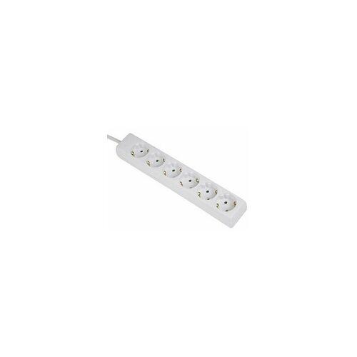 Hama 00030529 Steckdosenleiste 6-fach mit Kindersicherung 1,4m  (Weiß)