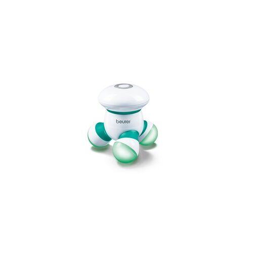 Beurer MG16 Mini-Massagegerät LED-Licht Massage-to-go Vibrationsmassage (Grün, Weiß)