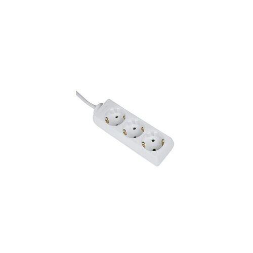 Hama 00030528 Steckdosenleiste 3-fach mit Kindersicherung 1,4m  (Weiß)