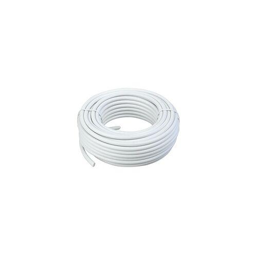 Schwaiger KOX11515 532 SAT Koaxialkabel mit Koaxialkabel und F-Steckern 15m (Weiß)