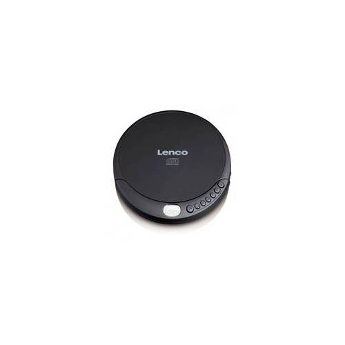 Lenco CD-010 portabler CD Payer (Schwarz)