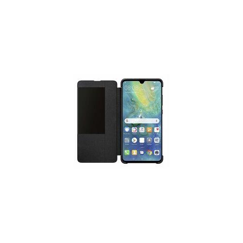Huawei 51992621 Booklet Smart View Flip Cover für HUAWEI Mate20 (Schwarz)