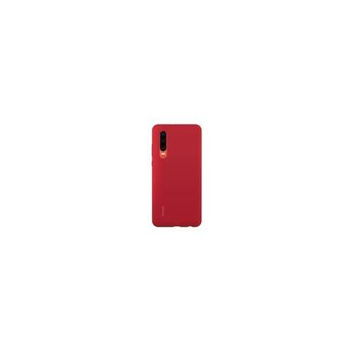 Huawei 51992848 Cover Silicone Car Case für HUAWEI P30 (Rot)