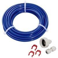 Hama 111385 Wasseranschluss Set für US-Kühlschränke (Blau)