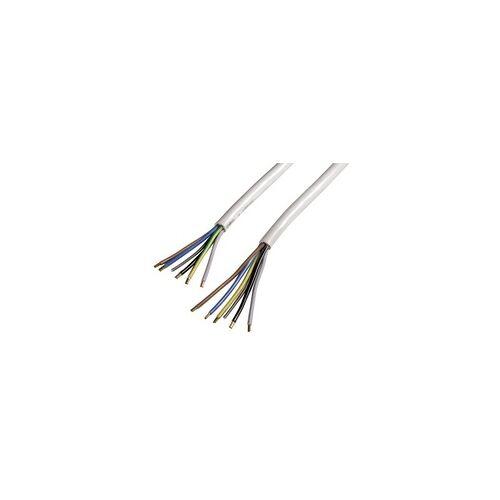 Xavax 00110827 Elektroherd-Zuleitung 2,5m  (Weiß)