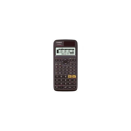 Casio FX-87DEX Taschenrechner 593 Funktionen Wertetabellen Icon-Menü (Schwarz)
