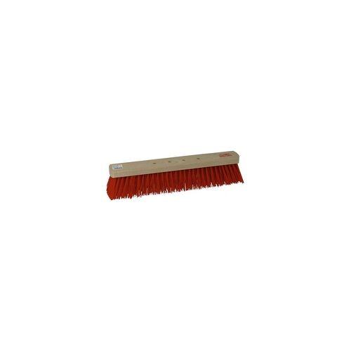 As-Brück Besen Straßenbesen Kehrbesen, Elaston, 4 - Loch Patent Beco 40 cm
