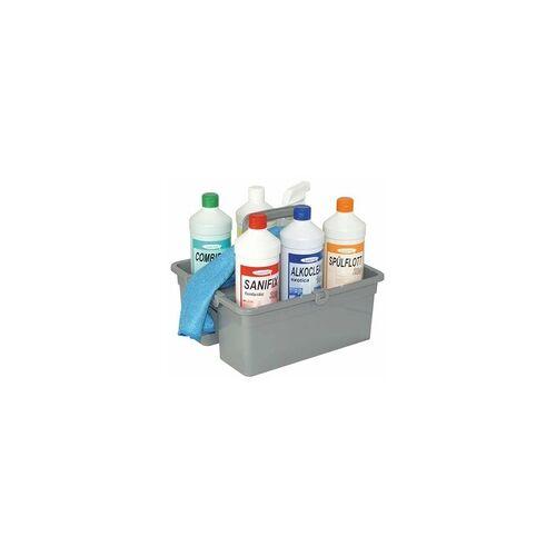 Lorito® Reinigungsmittel Set-Box im Tragekorb für alle Bereiche