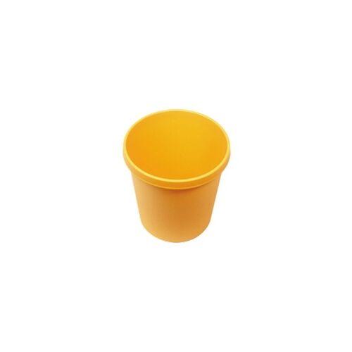 Wisch-Star Wischstar Papierkorb Abfalleimer Mülleimer gelb