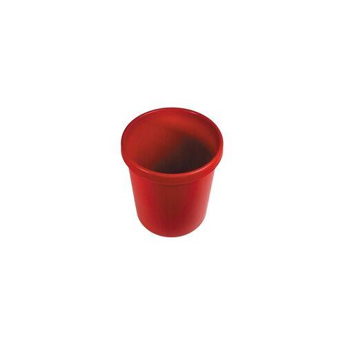 Wisch-Star® Wischstar Papierkorb Abfalleimer Mülleimer rot