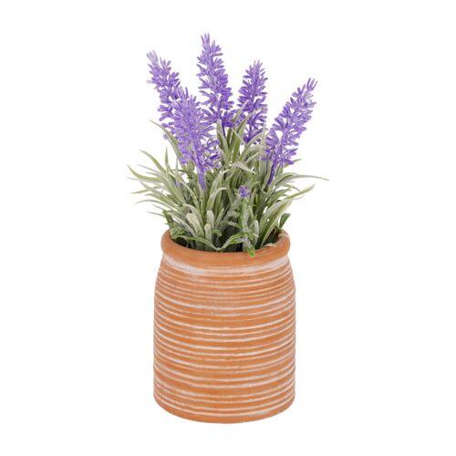 Kave Home - Kunstpflanze Lavendel 22 cm
