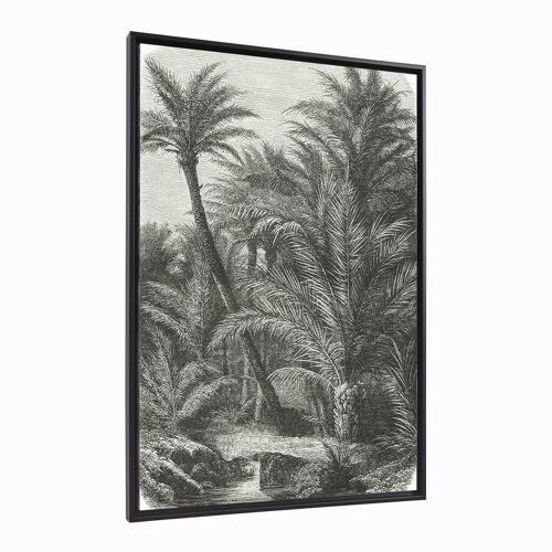 Kave Home - Bamidele Bild, Palmen, 60 x 90 cm