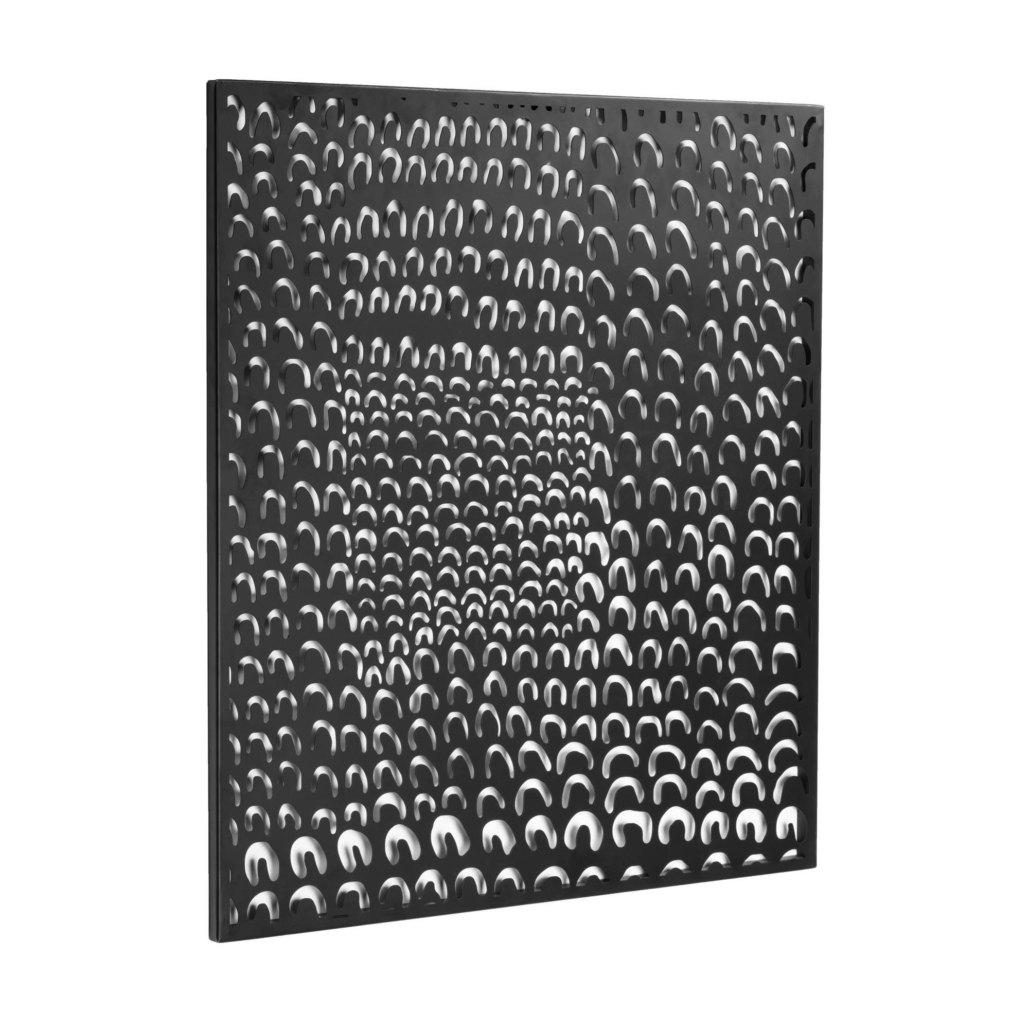 Kave Home - Cyna Wand Objekt aus Metall 60 x 74 cm