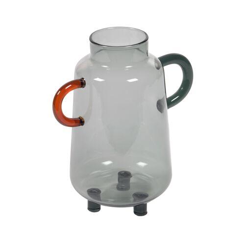 Kave Home - Kei türkise Glasvase 18 cm