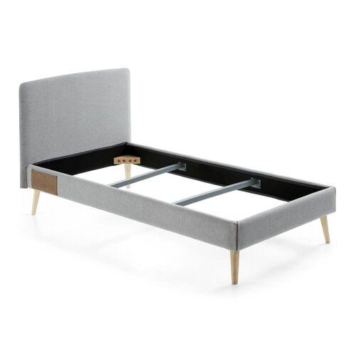 Kave Home - Dyla Bettbezug 90 x 190 cm, grau