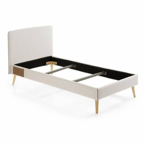 Kave Home - Dyla Bettbezug 90 x 190 cm, beige