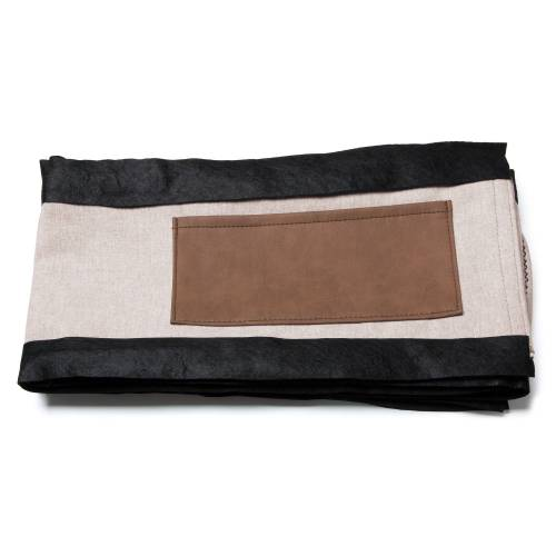 Kave Home - Dyla Bettbezug 150 x 190 cm, beige