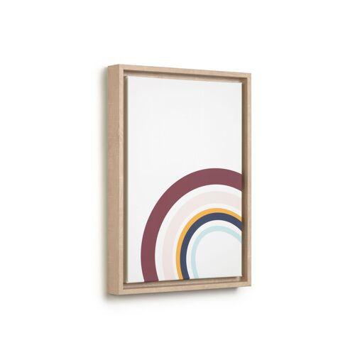 Kave Home - Keila Bild, Halbkreise, 29,8 x 42 cm