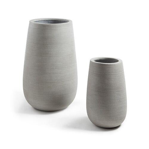 Kave Home - Loa Töpfe Ø 45 cm / Ø 30 cm, 2er-Set