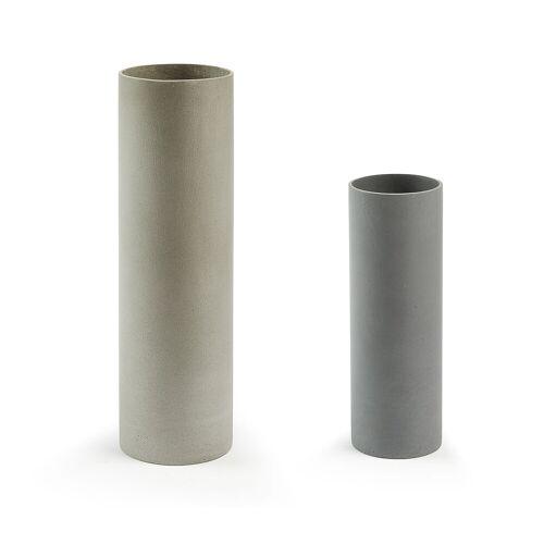 Kave Home - Marta 2er-Set Vasen Zylinder