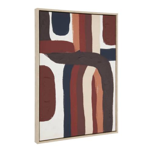 Kave Home - Djarra Gemälde 50 x 70 cm